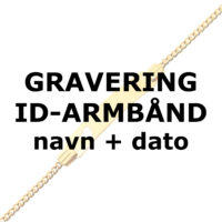 ID-armbånd GRAVERING