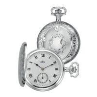 Lommeur INEX sølv mekanisk sølv r.